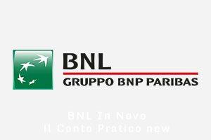 Conto corrente BNL In Novo il Conto Pratico new