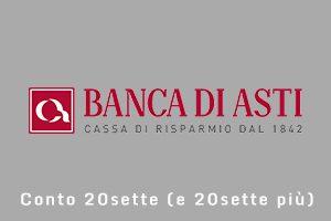 20sette e 20sette plus Banca di Asti
