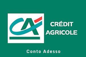 Conto Adesso Gruppo Bancario Credito Agricole