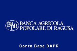 Conto Base BAPR