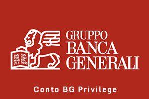 Conto corrente BG Privilege Banca Generali