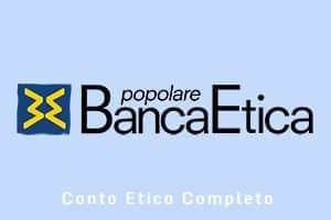 Conto corrente Etico Completo di Banca Etica