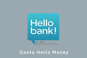 Conto corrente Hello Money di Hello Bank