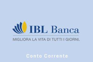 Conto corrente IBL Banca