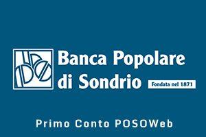 Primo Conto POSOWeb Banca Popolare di Sondrio